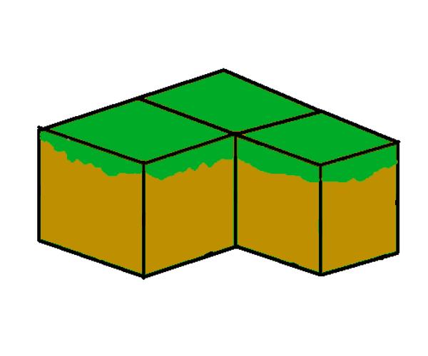 Triple Grass Block-1