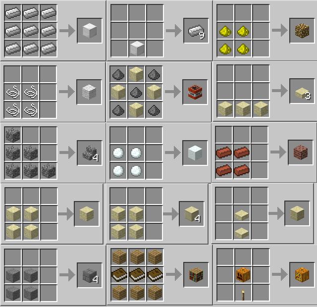 майнкрафт белый бетон