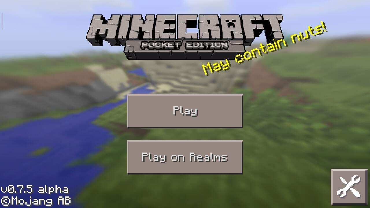 Minecraft Pocket Edition 0.7.5 скачать и играть