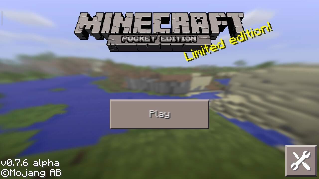 Minecraft Pocket Edition 0.7.6 скачать