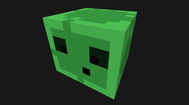 Minecraft-Slime-Cube
