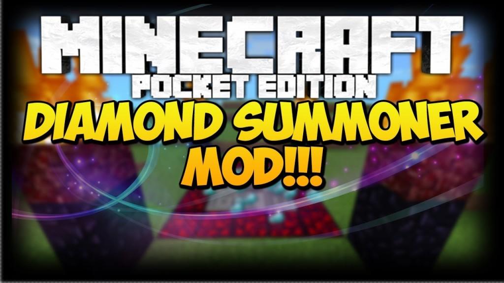 DiamondSummoner-mod-minecraft-logo