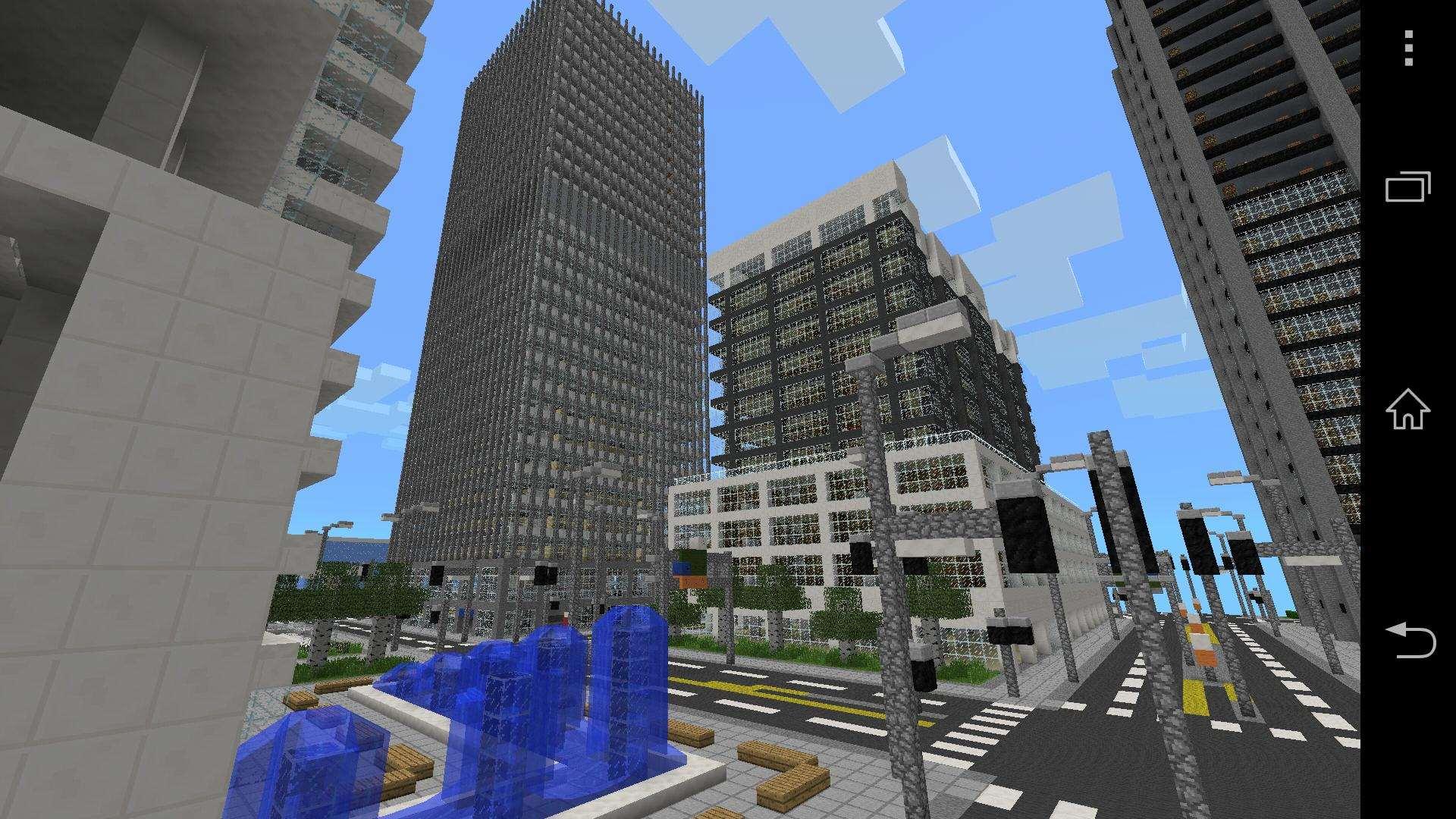 Карты на майнкрафт 1.7.10 на большой город