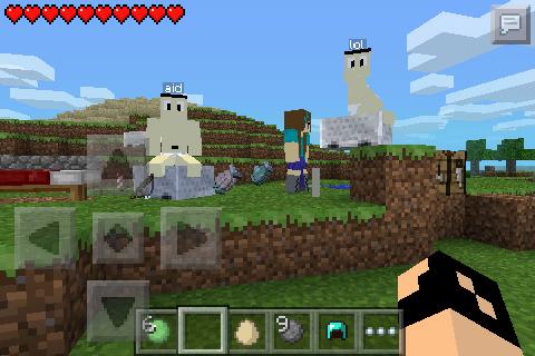 Minecraft comes alive-mod-1