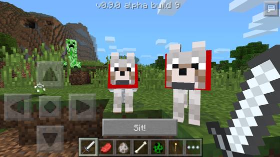 волки в майнкрафт 0.9.0