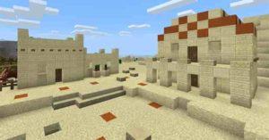 Пустынная деревня в Майнкрафт ПЕ
