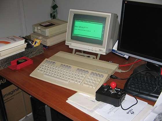 Первый компъютер Нотча