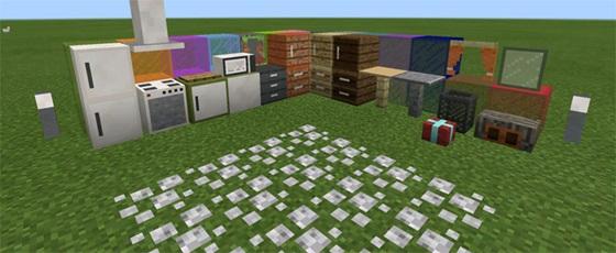 Фурнитура в Моде на декоративные блоки для Майнкрафт ПЕ