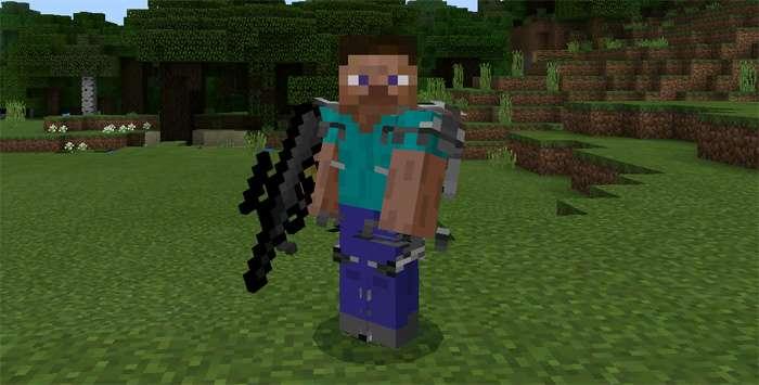 Мод DesnoGuns – более 50 видов оружия в Minecraft PE!