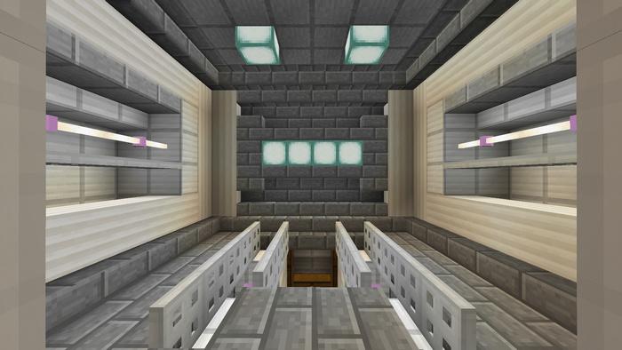 Трансформирующаяся комната в Майнкрафт ПЕ!