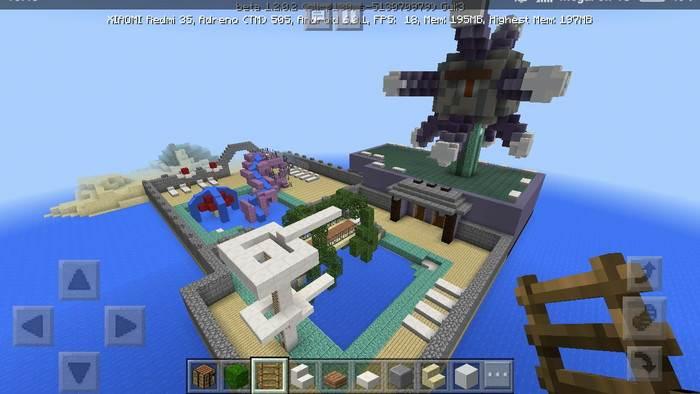 Как построить бассейн в Майнкрафте просто и без модов!