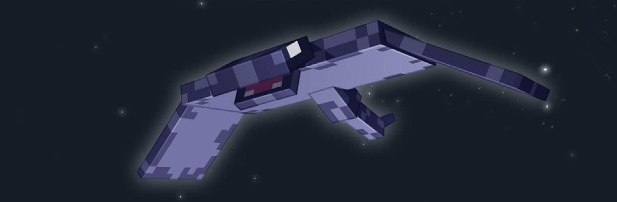 новый моб монстр ночных небес в minecraft