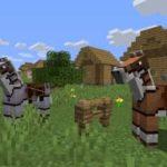 Кожаная конская броня в minecraft 1.14