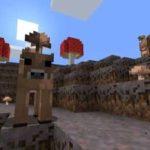 Коричневые грибные коровы в minecraft 1.14