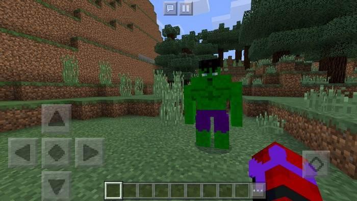 Аддон Avengers Infinity War для Minecraft Bedrock 1 5