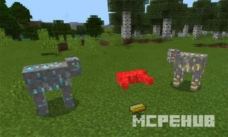 Мод на коров для Minecraft 1.8