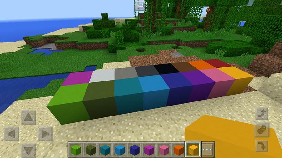 Блоки в Майнкрафт 1.1.0