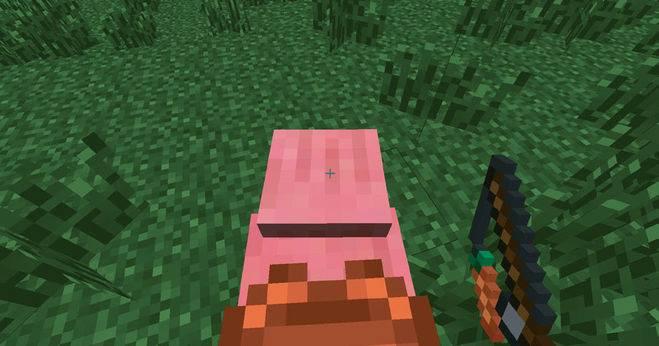 свинья в Майнкрафт 1.7.0.9