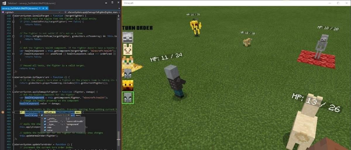 Scripting API в Майнкрафт Покет Эдишн 1.13.0