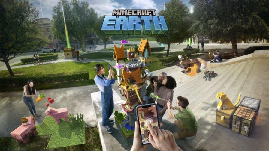 Minecraft Earth для Андроид