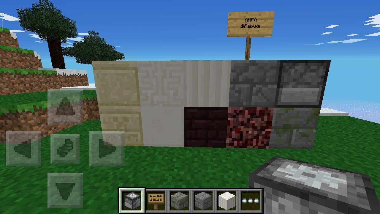 Новые блоки в Майнкрафт ПЕ 0.6.0