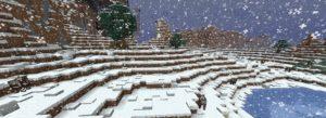 Снег в Майнкрафт ПЕ 0.12.3