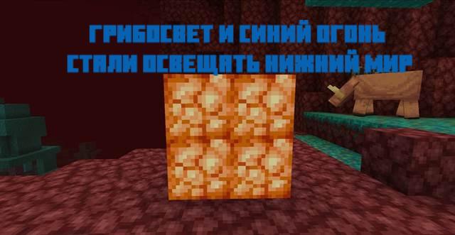 Грибосвет в Minecraft 1.16