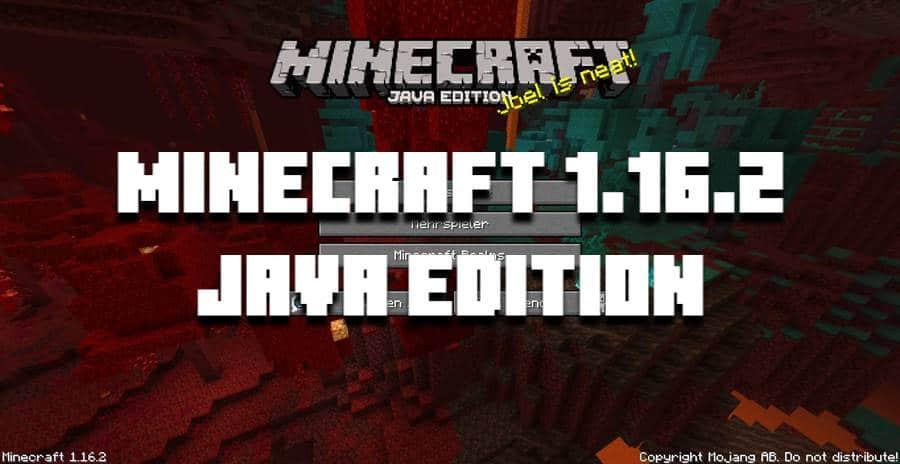 Скачать Minecraft 1.16.2