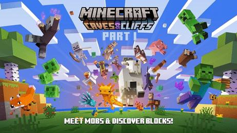 Скачать Minecraft Bedrock Edition Release 1.17.0