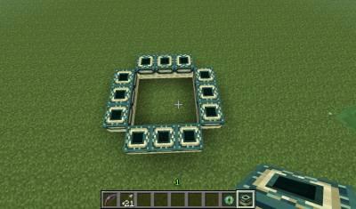 Как построить в майнкрафт портал в энд