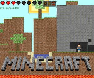 Флеш-игра Майнкрафт