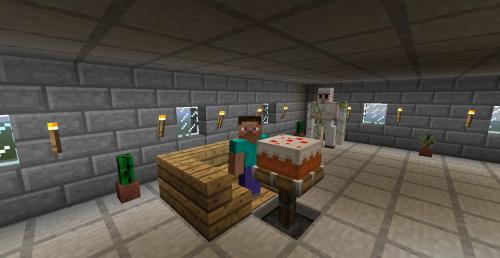 Создаем стол в Minecraft