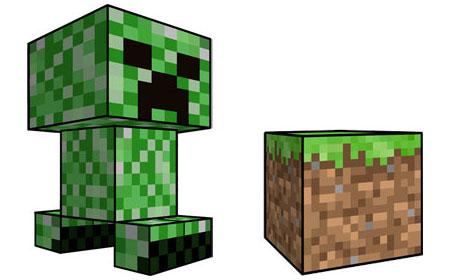 Новая подборка фигурок Minecraft из бумаги