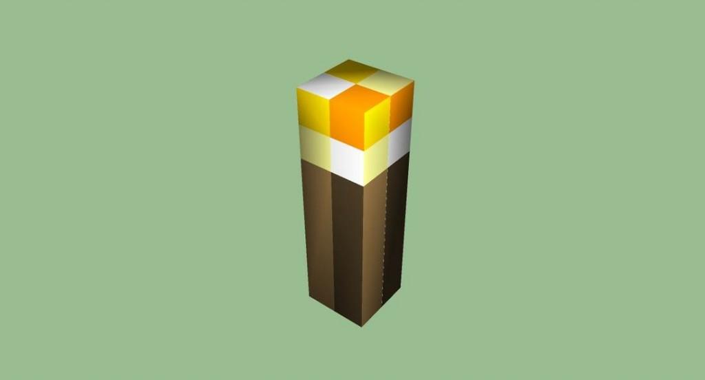 Как в Майнкрафте сделать факел