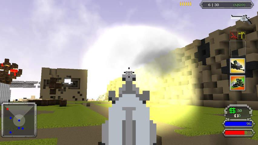 Обзор новой игры-песочницы Guncraft