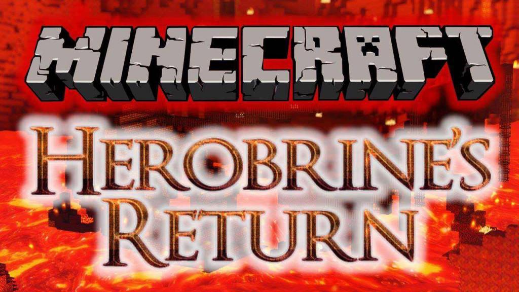 Карта с Херобрином для Minecraft
