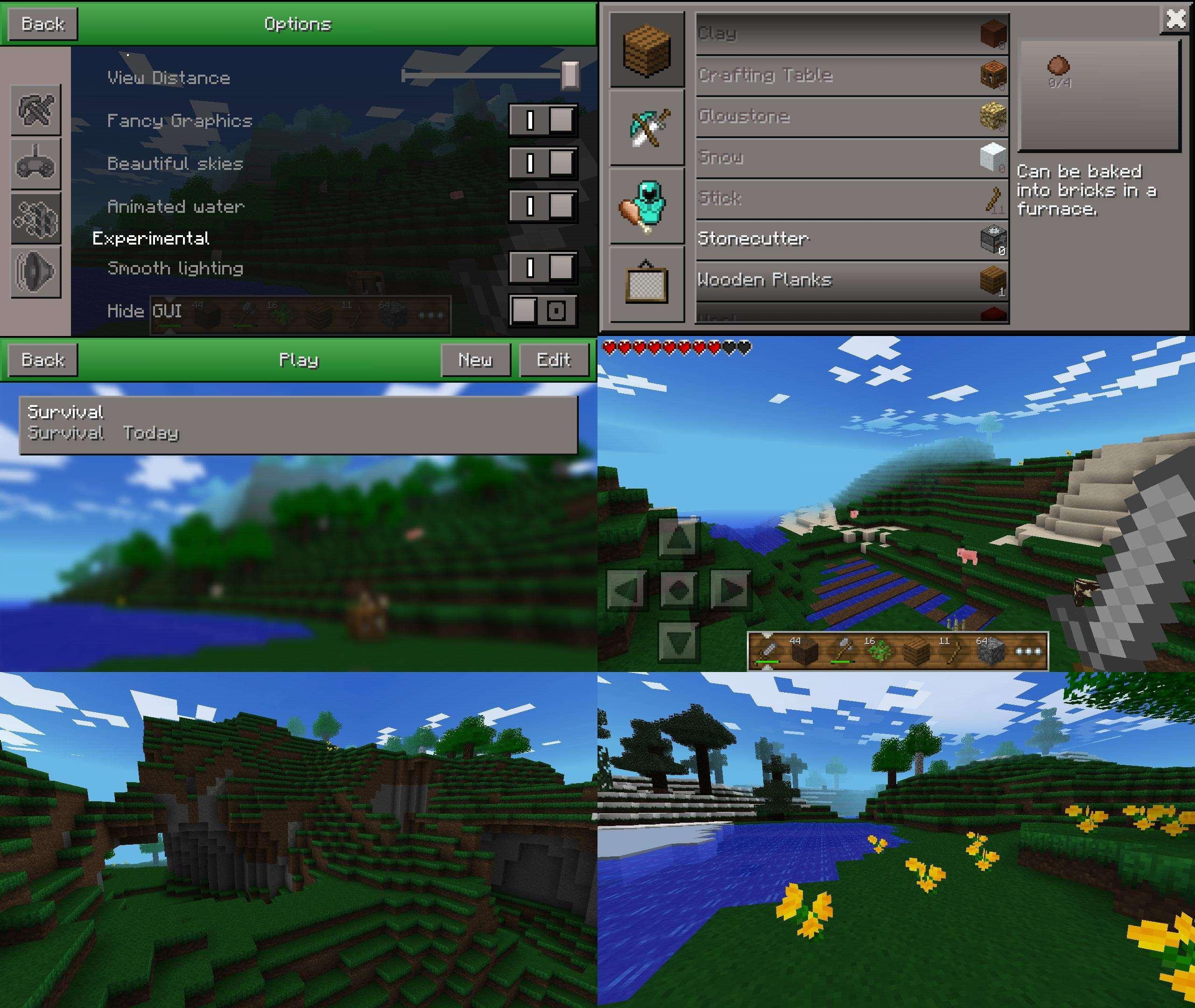 Текстур-пак MyCraft PE [x16] для Minecraft PE 0.7.1: download-minecraft-for-android.ru/textury/tekstur-pak-mycraft-pe...