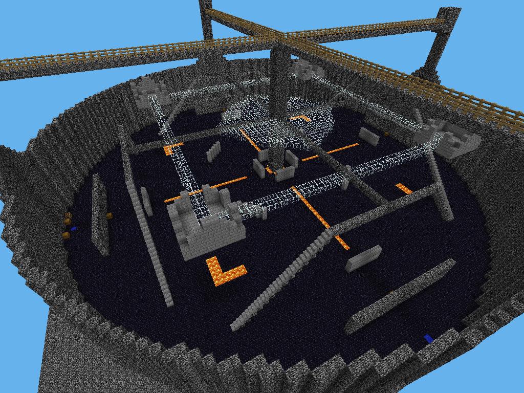 Мультиплеерная карта QuakeCraft PE