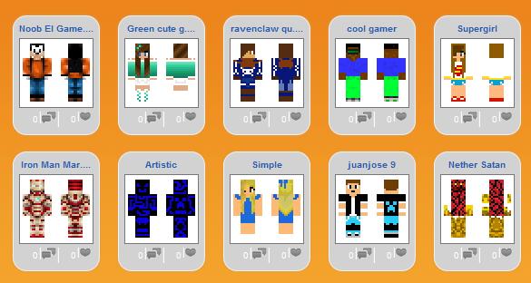 Сайт скинов для Minecraft 1.5.2