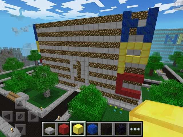 Карта для паркура NPC- Nick's Parkour Center для Minecraft PE 0.7.0