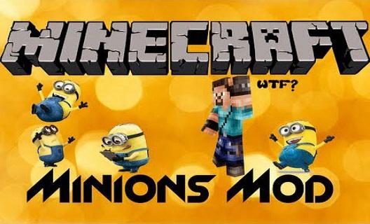 Мод Minions для Minecraft 1.6.2