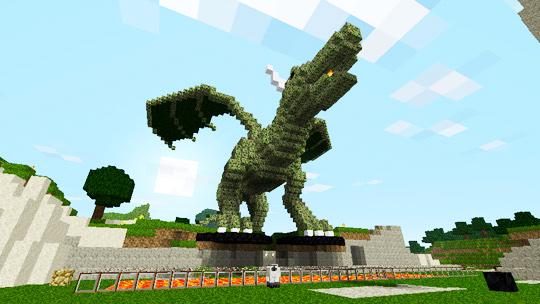 Как сделать в Minecraft дракона