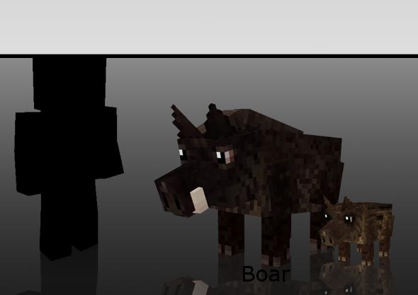 Мод Mo Creatures для Minecraft 1.5.2