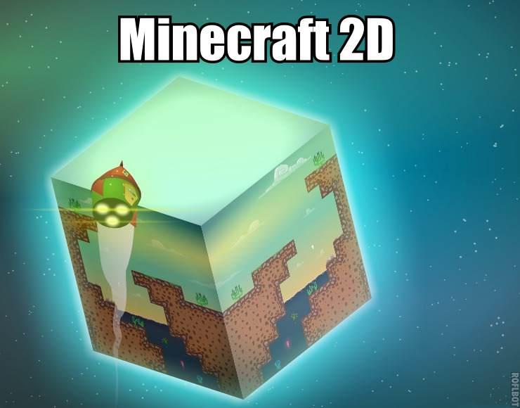 Хотите играть в Майнкрафт 2д бесплатно!