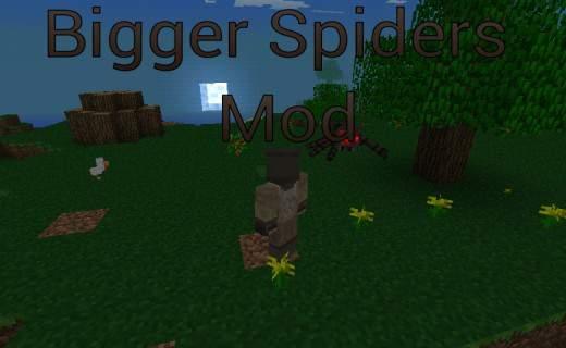 Мод на огромных пауков для MPCE 0.7.3