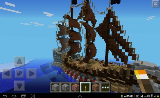 Карта про пиратов Pirate Ship!