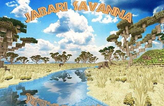 Карта Jabari Savanna [0.8.0]