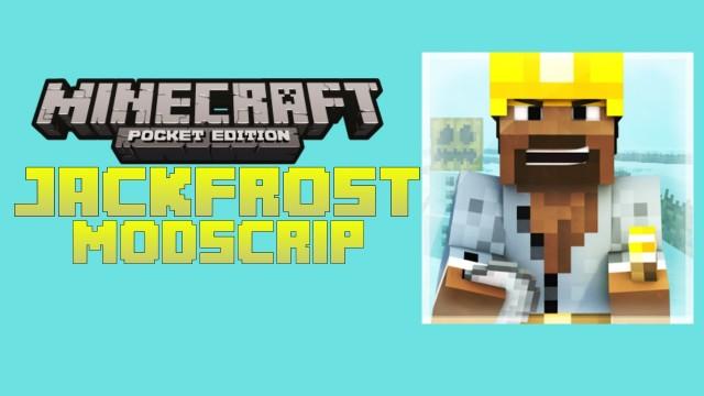 Мод на друга JackFrost для Minecraft 0.8.1