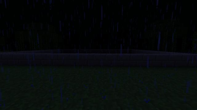 Мод, добавляющий дождик в Minecraft PE 0.8.1!