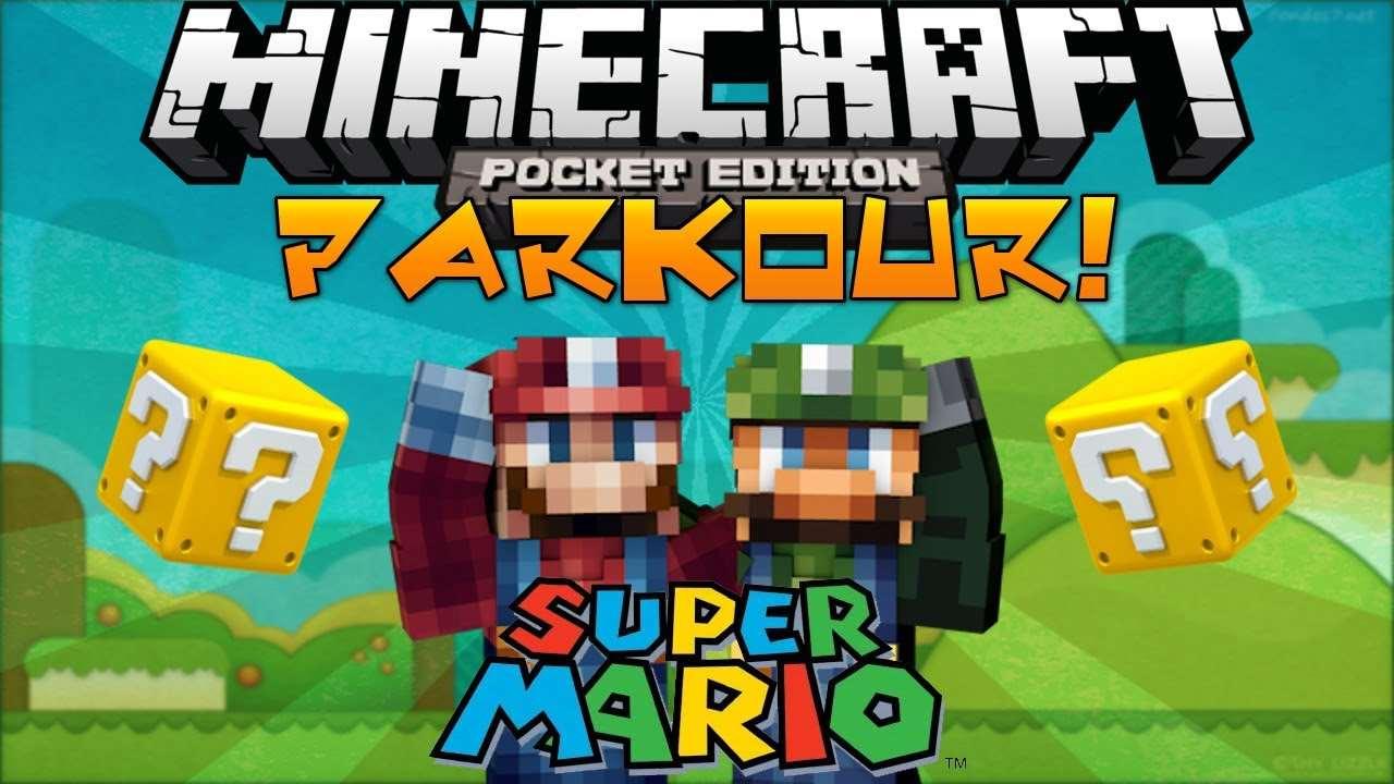 Паркур-карта «Супер Марио» [0.8.1]